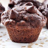 Gluten Free Dark Chocolate Chip Muffins