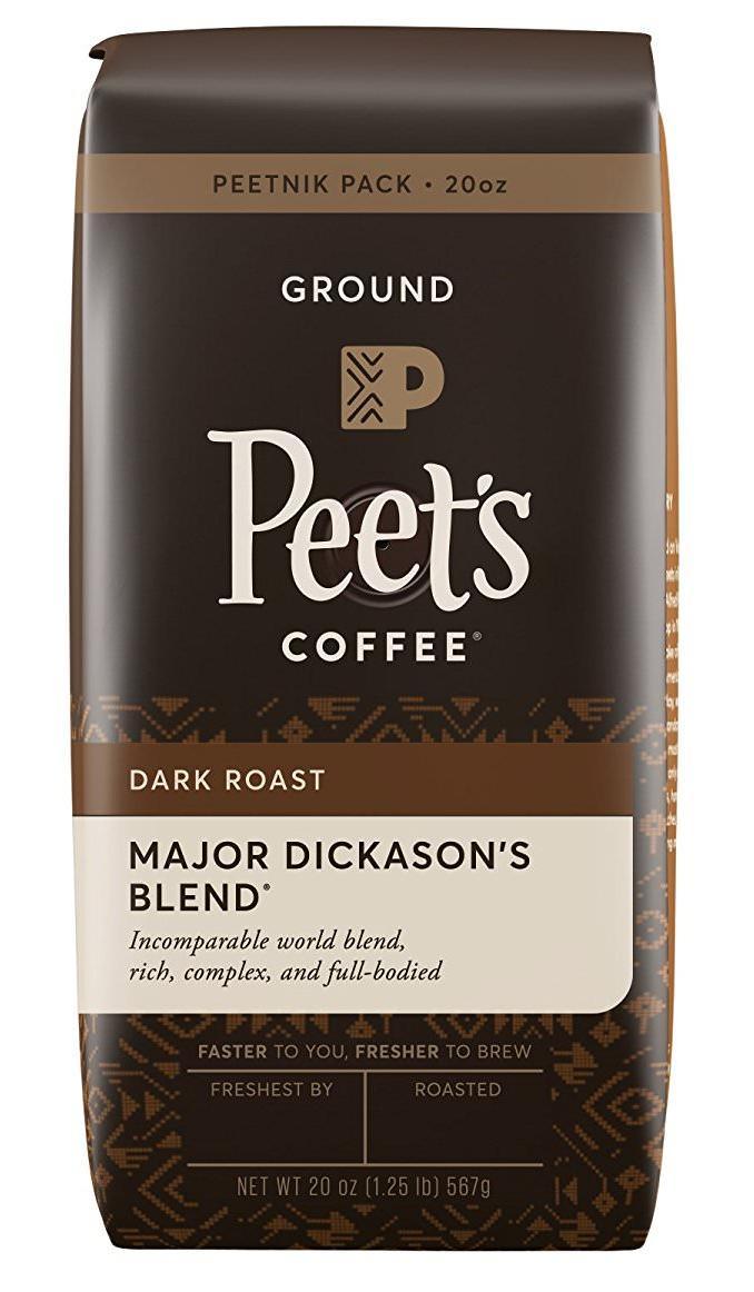 Peet's Coffee Major Dickason's Blend | Foods Geek